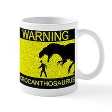 Warning: Acrocanthosaurus Mug