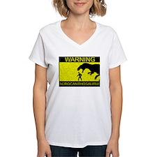 Warning: Acrocanthosaurus Shirt