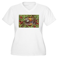 1909 Winter Cottage T-Shirt