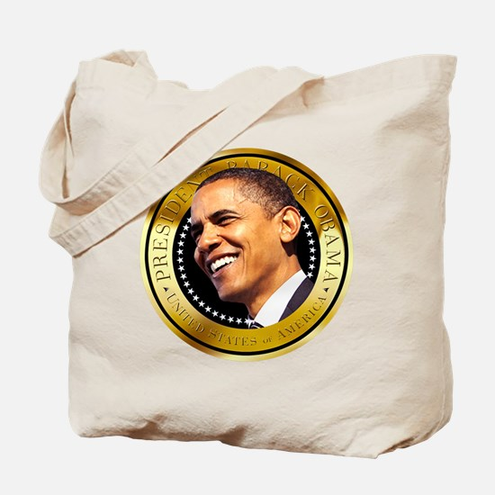 Obama Gold Seal Tote Bag