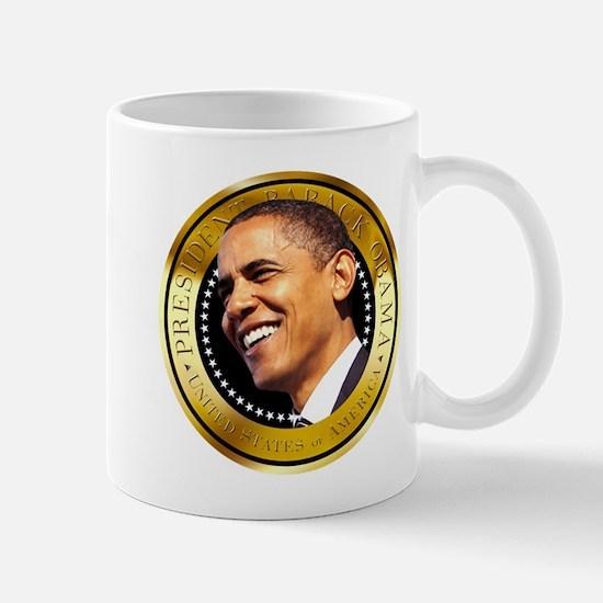 Obama Gold Seal Mug