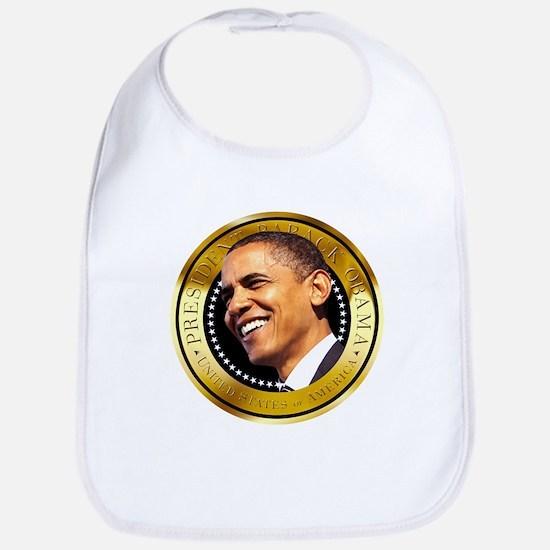 Obama Gold Seal Bib