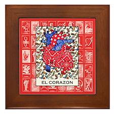 El Corazon 2 Framed Tile