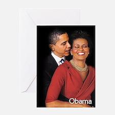 Obama Whisper Greeting Card