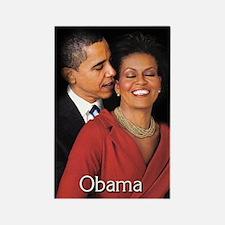 Obama Whisper Rectangle Magnet