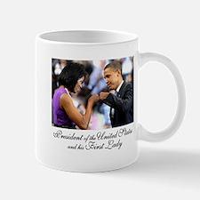 Obama Fist Bump Mug