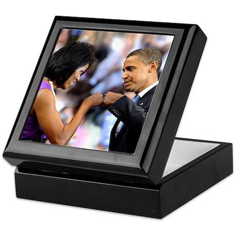 Obama Fist Bump Keepsake Box