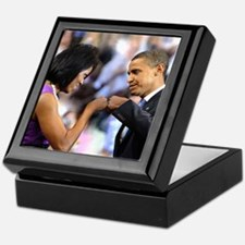 Obama Fist Bump Keepsake Box