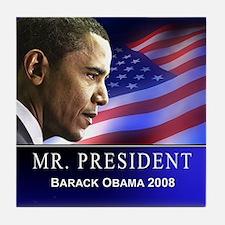 Mr. President (patriotic) Tile Coaster