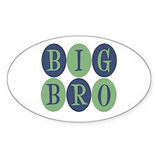 Big Bro Oval Decal