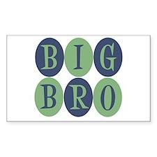 Big Bro Rectangle Sticker 10 pk)