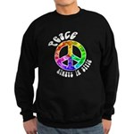 Peace Always in Style Sweatshirt (dark)