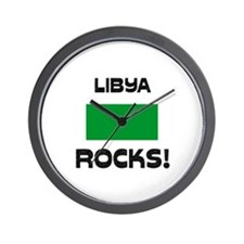 Libya Rocks! Wall Clock