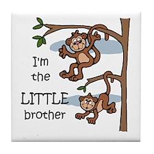 Little Brother Tile Coaster