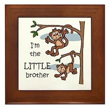 Little Brother Framed Tile