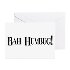 Bah Humbug Greeting Cards (Pk of 10)