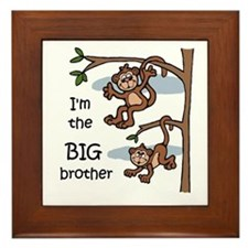 Big Brother Framed Tile