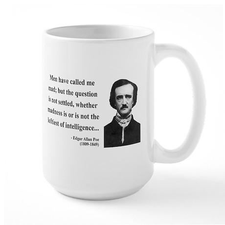 Edgar Allan Poe 18 Large Mug