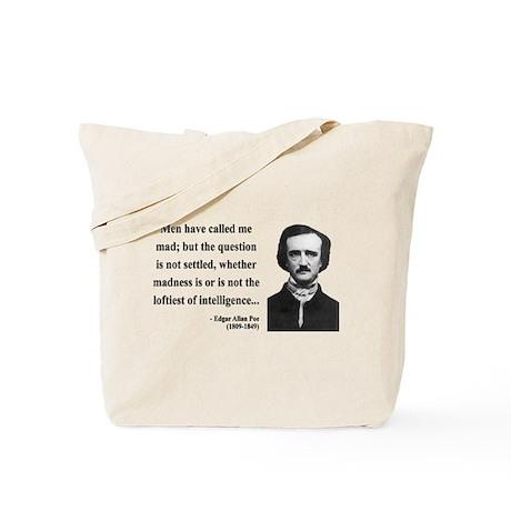 Edgar Allan Poe 18 Tote Bag