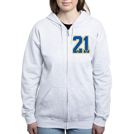 SE Sweden(Sverige) Hockey21 Women's Zip Hoodie