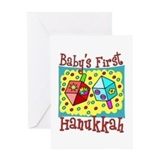 Baby's First Hanukkah Greeting Card