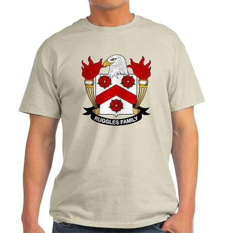 Ruggles Family Crest Light T-Shirt