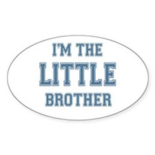 Little Brother Oval Decal