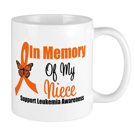 Leukemia InMemory Niece Mug