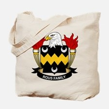Rous Family Crest Tote Bag