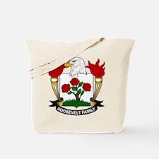 Roosevelt Family Crest Tote Bag
