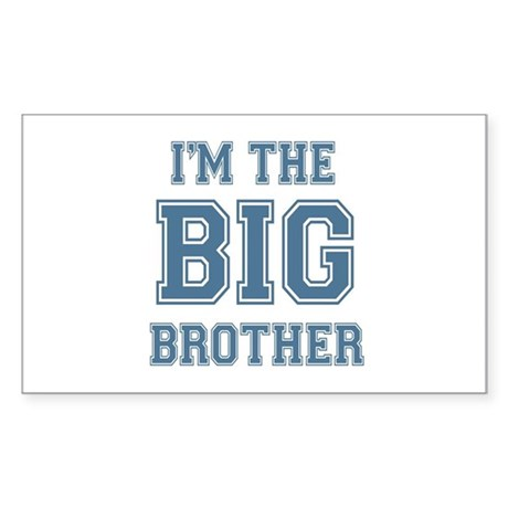 Big Brother Rectangle Sticker