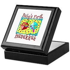 Baby's First Hanukkah Keepsake Box
