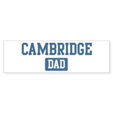 Cambridge dad Bumper Bumper Sticker