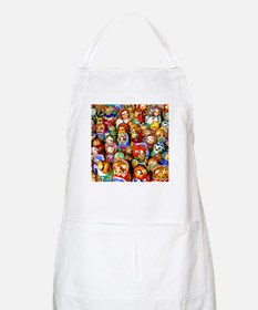Matrushka Army BBQ Apron