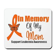 Leukemia In Memory Mom Mousepad