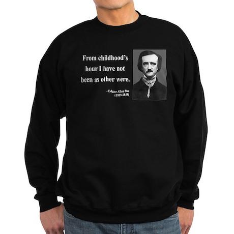 Edgar Allan Poe 19 Sweatshirt (dark)