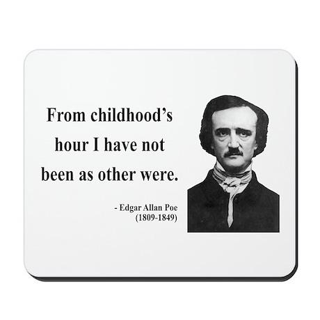 Edgar Allan Poe 19 Mousepad