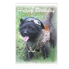 Bling Birthday Cairn Postcards (Package of 8)