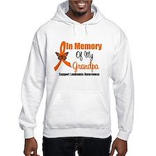Leukemia In Memory Grandpa Hoodie