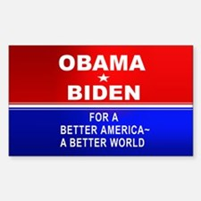 A Better America Rectangle Decal