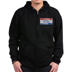 South Dakota NDN Pride Zip Hoodie