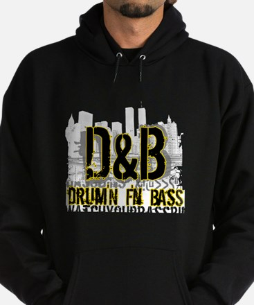 Drum and Bass Urban Hoodie (dark)
