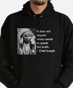 Truth Quote Hoodie (dark)