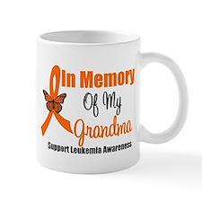 Leukemia In Memory Grandma Mug