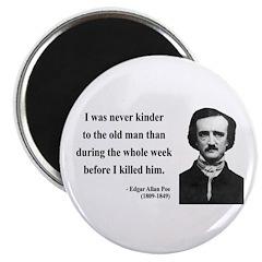 Edgar Allan Poe 20 Magnet