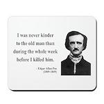 Edgar Allan Poe 20 Mousepad