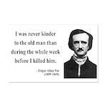 Edgar Allan Poe 20 Mini Poster Print