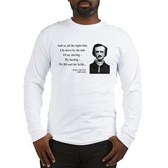 Edgar Allan Poe 21 Long Sleeve T-Shirt
