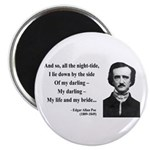 Edgar Allan Poe 21 Magnet