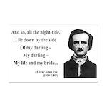Edgar Allan Poe 21 Mini Poster Print